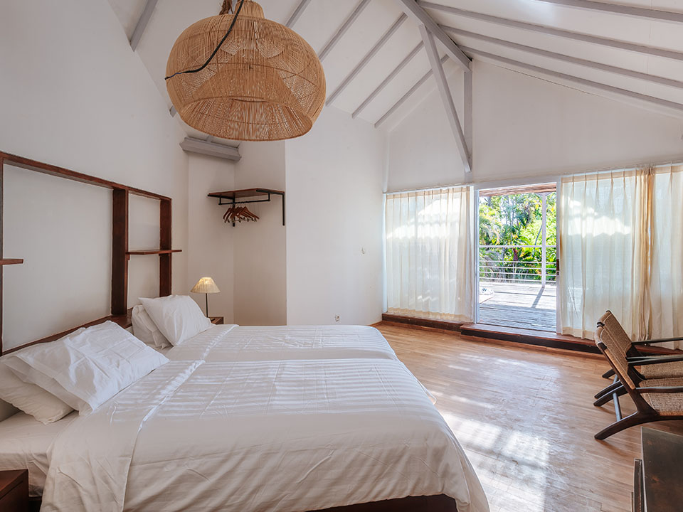 upstairs room bali villa